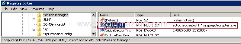 VMware image customization is in progress